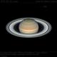 Saturn and Tethys,                                Dzmitry Kananovich