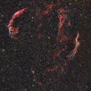 Veil Nebula (NGC 6960, NGC 6974, NGC 6979, NGC 6992, NGC 6995),                                Andrea Storani