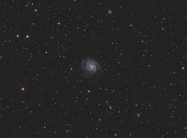 M101 with Samyang 135mm [Joint work],                                Ben
