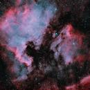 North America and Pelican Nebula, NGC7000 IC5070, Askar ACL200 + ASI533MC,                                tjm8874