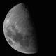 The Moon - First Quarter @ 4.6MP,                                Fernando