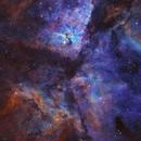 Eta Carina SHO with RGB stars,                                Ben