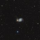 Messier 51 - The Whirlpool Galaxy,                                Rafael Schmall