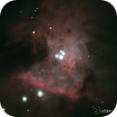 M42 Orion Nebula (08 oct 2015, 05:27),                                Star Hunter