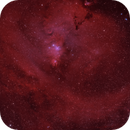 Sharpless in Monoceros - (Sh2-273) The Christmas Tree Nebula in H-HO-O,                                G400