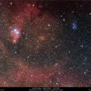 NGC 2264 - NGC 2261 - IC 2169,                                Gérard Nonnez