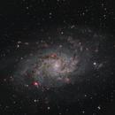 Messier 33,                                Clem