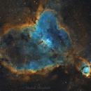 IC 1805 - Heart nebula سديم القلب,                                Meshal Almutairi