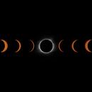 Solar Eclipse Time Lapse Collage,                                Damien Cannane