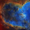 Heart Nebula SHO,                                Christer Strandh