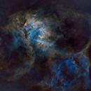 Lion Nebula, SH2-132,                                Harith Alshuwaykh