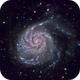 M101 - The Pinwheel Galaxy,                                Andrew Barton