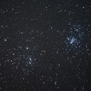 Double Cluster,                                Scott