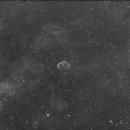 Crescent (Brain) Nebula,                                minoSpace