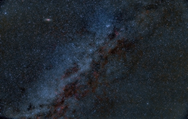 Milky Way,                                Frank Breslawski