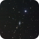 NGC2998 Barred spiral galaxy and PGC 28208 in Ursa Major,                                Patrick Duis