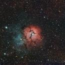 Trifid Nebula - June 27, 2015,                                Chappel Astro