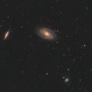Bode's Galaxy - M81 / M82 - Feb 2018,                                Martin Junius