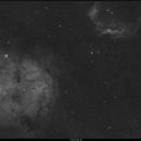 IC1396 & SH2 129,                                quercus