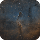 IC 1396 - Elephant's Trunk Nebula (SHO),                                Benny Colyn