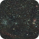 M38, NGC1931, IC417 - Messing Around with a HyperStar,                                Kelly Wood