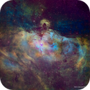 The Eagle Nebula - Hubble Palette,                                Eric Coles (coles44)