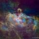 The Eagle Nebula - Hubble Palette,                                Eric Coles (coles44)