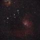 IC 405 Flaming Star Nebula,                                Hubble_Trouble