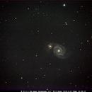 Whirlpool Galaxy,                                Bruce Donzanti