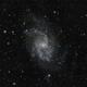 Triangulum Galaxy (M33) with 4 second frames,                                Doc_HighCo