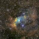 NGC 7635 First SHO,                                Eric COUSTAL ( F5ODA )