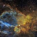 Lobster Claw Nebula, SH2-157, Hubble Palette,                                Eric Coles (coles44)