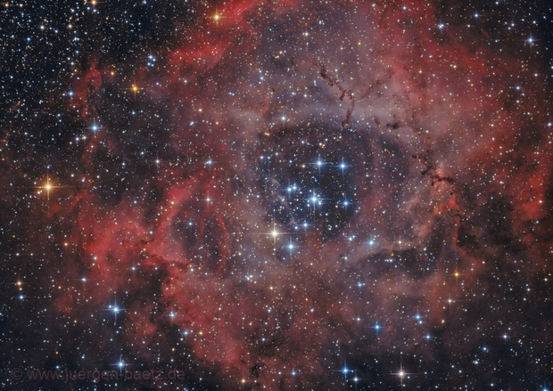 Rosetta Nebula NGC 2244,                                Jenafan