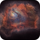 Lagoon Nebula,                                DaveMoulton