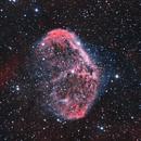 NGC 6888,                                James Schrader