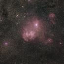 IC 2944, Running Chicken Nebula,                                Steve Perry