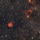 Nebulosas cabeza de mono y medusa, M35.,                                Santiago Rodrígue...