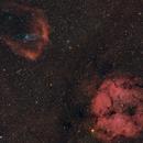 Nebulae in Chepheus: IC1396 - Sh2-129 - OU4,                                Giulio