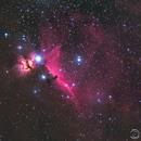 Flame & Horsehead Nebulae,                                MrRat