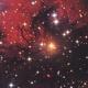 vdB 136 Yellow Reflection Nebula - HaLRGB,                                Phil Brewer