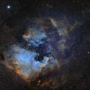 North American and Pelican Nebula WideField,                                AstroBDLbug