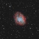 M1: Crab Nebula in RGB-Ha-OIII,                                Chris Sullivan