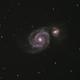 The Whirlpool Galaxy M51,                                Tyler Curtis