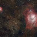 Trifid & Lagoon Nebula,                                Chappel Astro