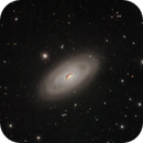 M64, Evil eye galaxy,                                Benoit Blanco