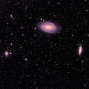 M81, M82 & NGC 3077,                                PJ Mahany