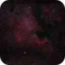 NÉBULEUSE AMÉRIQUE DU NORD (NGC 7000),                                Martin Grégoire