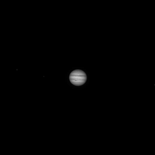 Jupiter @ 600mm,                                Axel