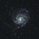 M 101, Pinwheel,                                Aries-Lux