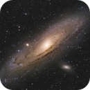 M31 Andromeda Galaxy,                                Curry